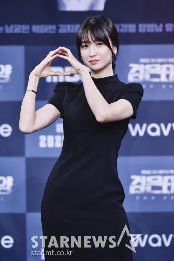 박하선 '사랑스런 검은 태양'[★포토]