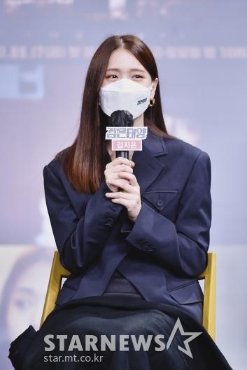 김지은 '가려도 예쁘죠?'[★포토]