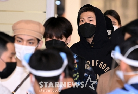 방탄소년단 RM '대충 입어도 멋짐'[★포토]