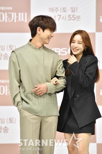 안우연-윤진이 '보기만 해도 미소가'[★포토]