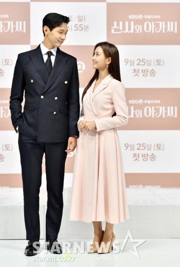 지현우-이세희 '설레는 키 차이'[★포토]