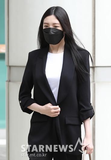 리지 '음주운전 교통사고 첫 공판 출석'[★포토]