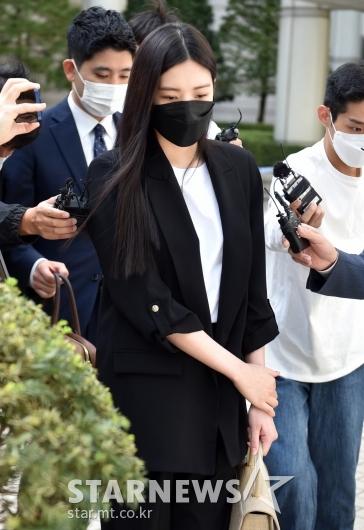 리지 '첫 공판 징역 1년 구형'[★포토]