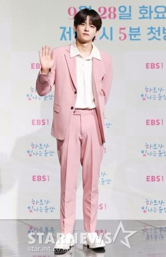 정수빈 '멋진 핑크남'[★포토]