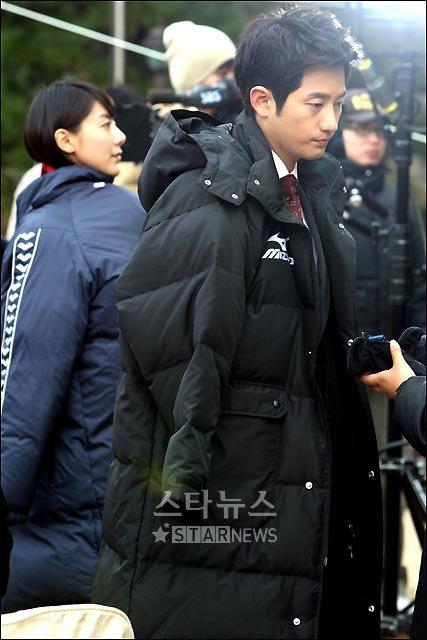 [★포토]박시후-윤정희, '날씨가 너무 추워요'