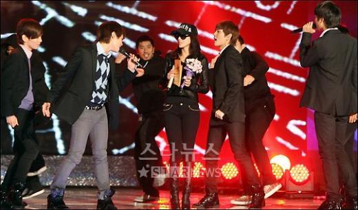 [★포토]샤이니, '박예진 누나는 너무 예뻐'