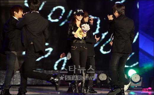 [★포토]박예진, '행복한 샤이니의 누나'