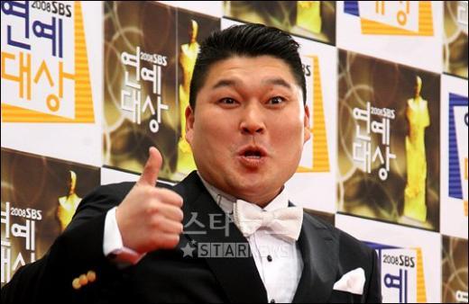 """[★포토]강호동 """"2008년 최고의 한해 입니다"""""""