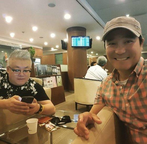 가수 겸 배우 임창정과 작곡가 김형석 /사진=임창정 SNS