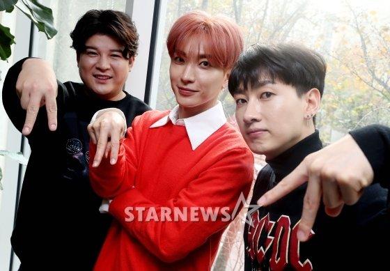 (왼쪽부터)슈퍼주니어 멤버 신동, 이특, 은혁 /사진=홍봉진 기자