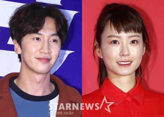 이광수(왼쪽)와 정유미/사진=스타뉴스