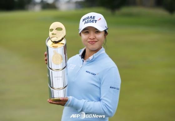 LPGA 투어 메디힐 챔피언십 우승을 차지한 김세영. /AFPBBNews=뉴스1