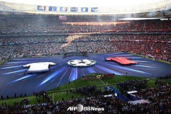 경기 시작 전 경기장 모습. /AFPBBNews=뉴스1