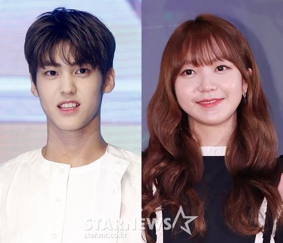 송유빈(왼쪽)과 김소희./사진=스타뉴스