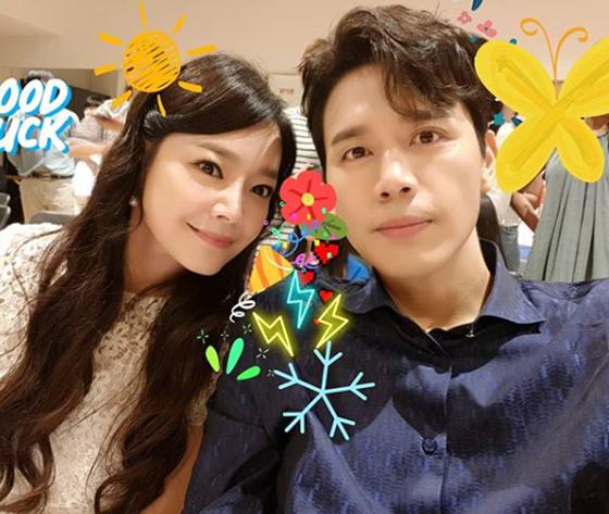 김소현(왼쪽)과 손준호./사진=손준호 인스타그램