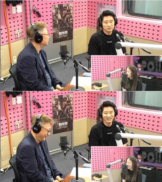 '장사리: 잊혀진 영웅들' 곽경택 감독(왼쪽), 배우 김명민 /사진=SBS 라디오 파워FM '박선영의 씨네타운' 보는 라디오 방송화면 캡처