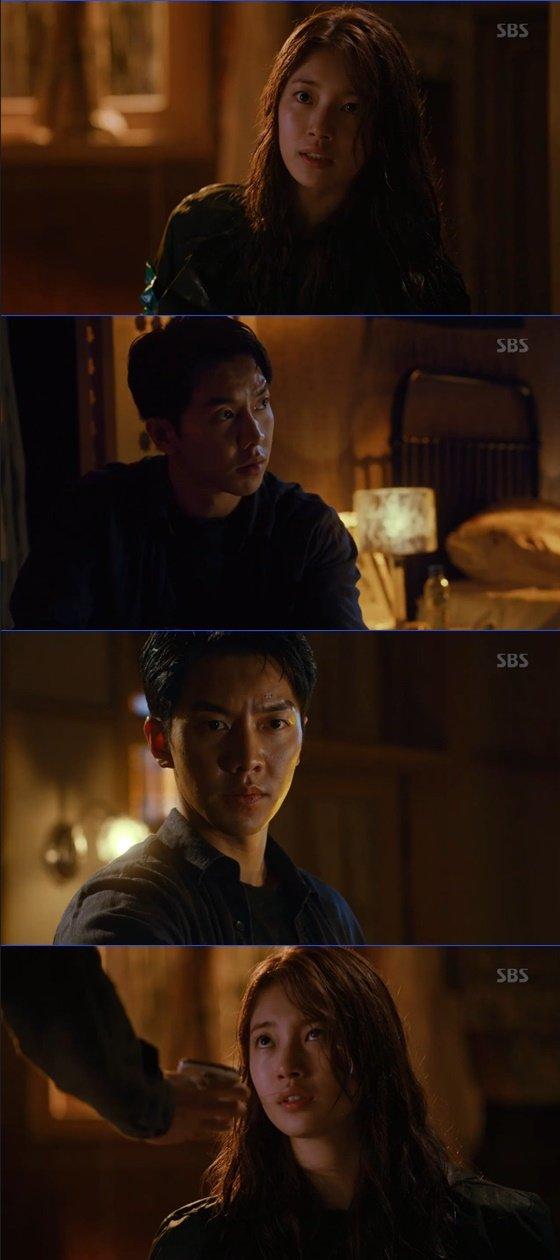배수지, 이승기 /사진=SBS \'배가본드\' 방송화면 캡처