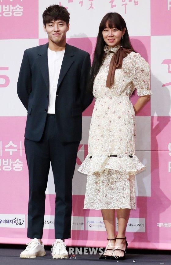 배우 강하늘, 공효진 / 사진=김휘선 기자