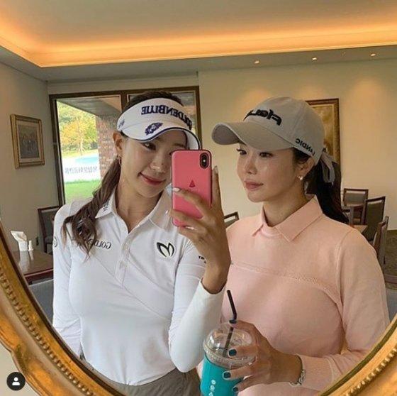 유현주(왼쪽)와 안신애. /사진=유현주 인스타그램