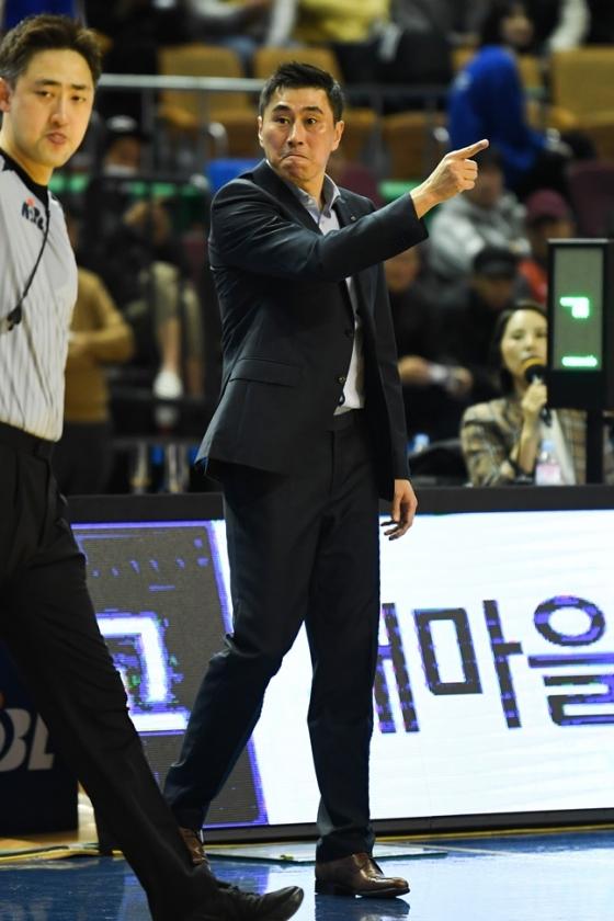 서울 삼성 썬더스 이상민 감독. /사진=KBL 제공