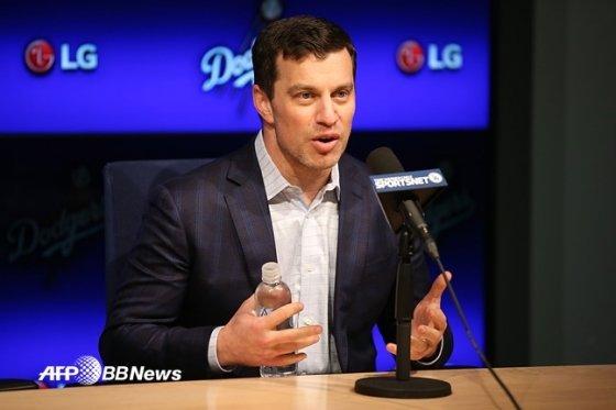 앤드루 프리드먼 LA 다저스 사장.  /AFPBBNews=뉴스1