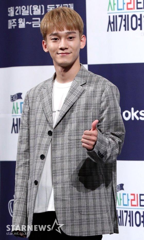 아이돌그룹 엑소 멤버 첸 /사진=홍봉진 기자