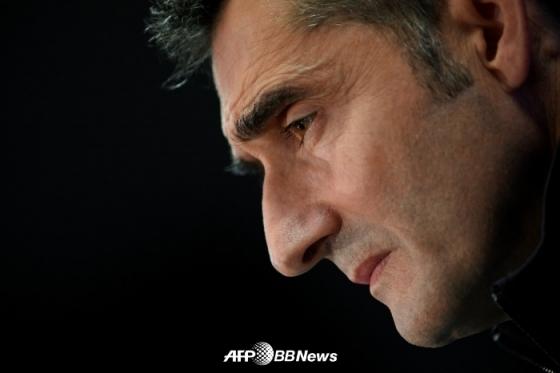 경질된 발베르데 전 바르셀로나 감독. /AFPBBNews=뉴스1