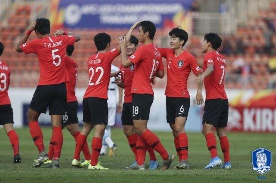 한국 축구 대표팀. /사진=대한축구협회 제공