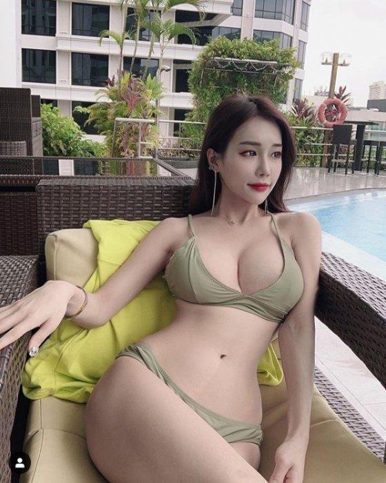 모델 한나나. /사진=한나나 인스타그램