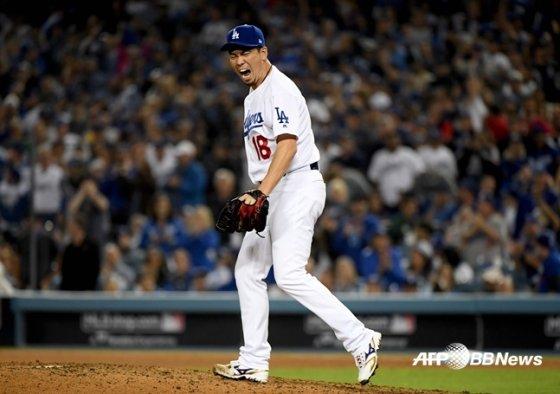 LA 다저스에서 미네소타로 이적한 마에다 겐타. /AFPBBNews=뉴스1