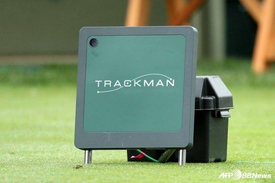 PGA 투어 대회에 설치된 트랙맨 시스템. /AFPBBNews=뉴스1