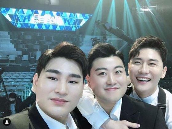 강태관, 김호중, 영탁 /사진=강태관 인스타그램