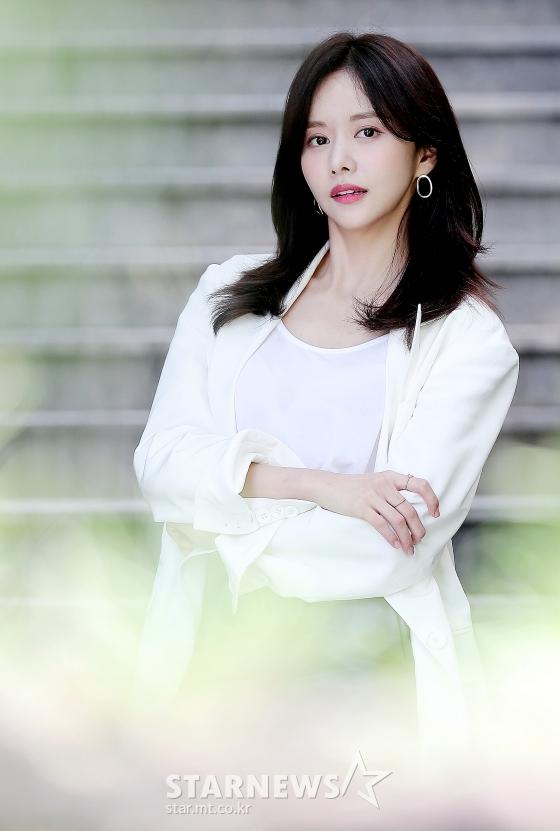 배우 한보름/사진=김창현 기자