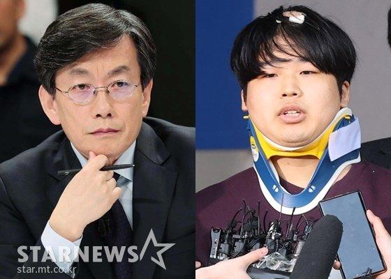 손석희 JTBC 사장과 조주빈 /사진=스타뉴스