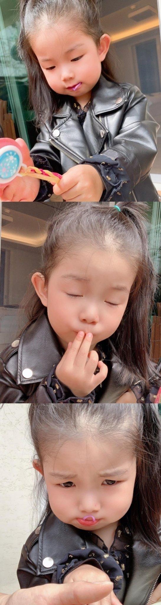 /사진=소이현 인스타그램 (인소은 양)