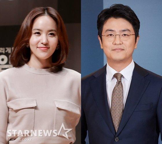 박지윤, 최동석(사진 오른쪽)/사진=스타뉴스, KBS(사진 오른쪽)