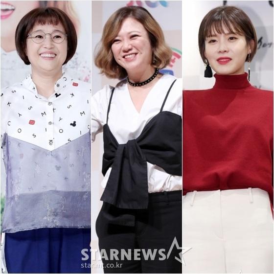 송은이(왼쪽부터), 김숙, 장도연 /사진=스타뉴스