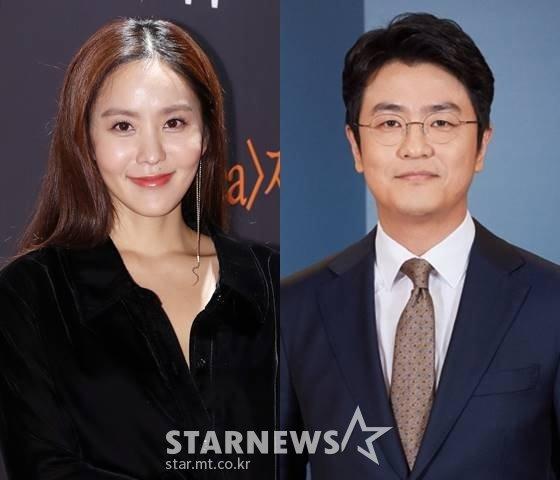 방송인 박지윤, 최동석 KBS 아나운서 /사진=스타뉴스, KBS