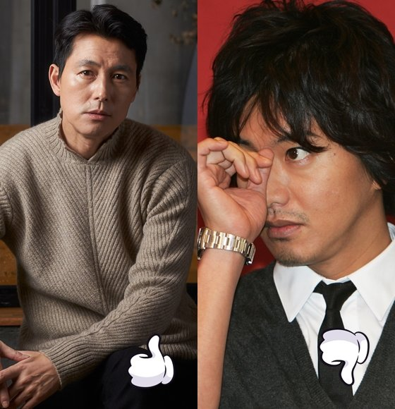 정우성이 소신 행보를 이어가고 있는 반면 기무라 타쿠야는 마스크 2000장을 기부했다가 비난을 받았다.