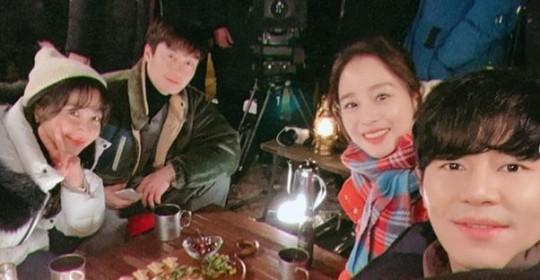 이규형, 김태희와 '하바마' 촬영현장 직찍 大방출