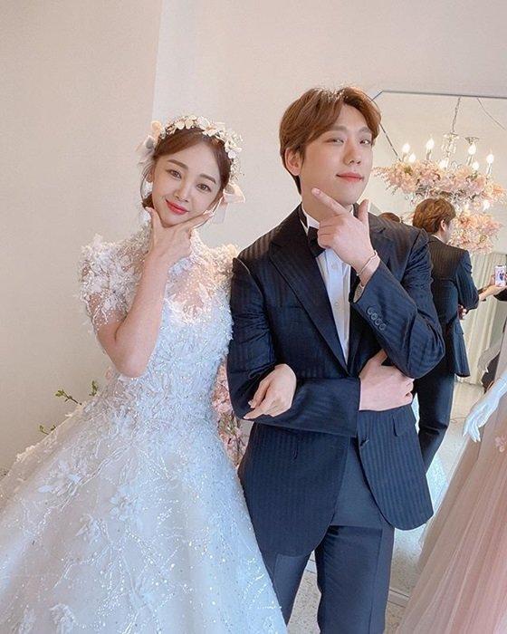 김보미 윤전일 /사진=김보미 인스타그램