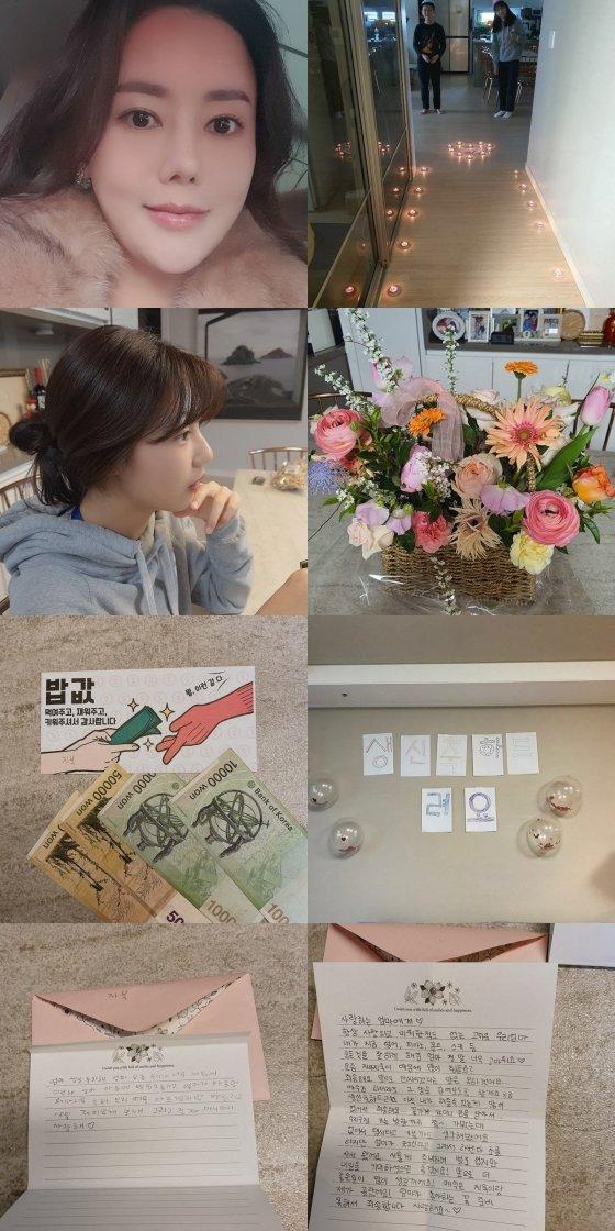 /사진=박연수 인스타그램 (송지아 송지욱 남매)