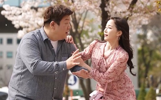 KBS 2TV \'개그콘서트\'의 유민상과 김하영
