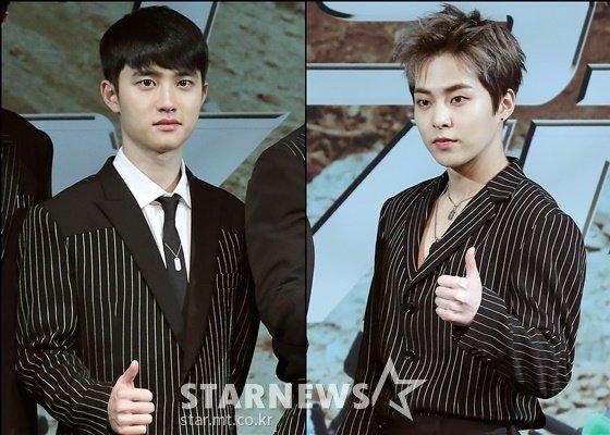 엑소 디오(왼쪽), 시우민 /사진=김창현 기자