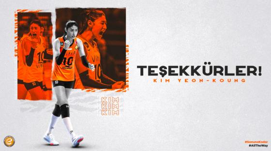 터키 배구팀 엑자시바시가 김연경에게 작별 인사를 전했다. /사진=엑자시바시 공식 홈페이지 캡처