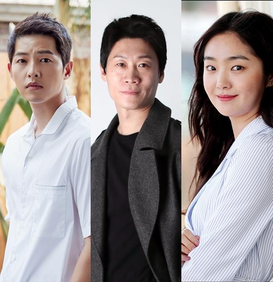 송중기와 진선규, 김혜준이 영화 '너와 나의 계절'에서 호흡을 맞춘다.
