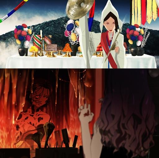 '무녀도'(상)와 '기기괴괴:성형수'가 제44회 안시 국제 애니메이션영화제에 초청됐다.