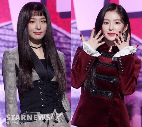 (왼쪽부터) 레드벨벳 슬기, 아이린 /사진=스타뉴스