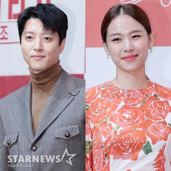 (왼쪽부터) 배우 이동건, 조윤희 /사진=스타뉴스