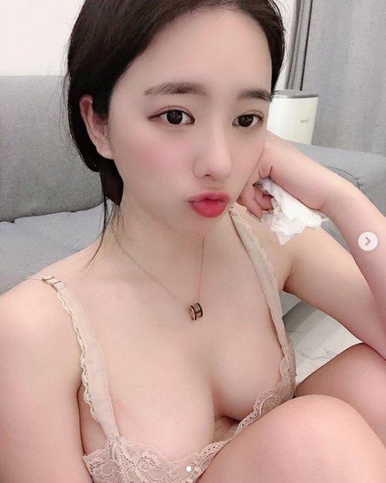 맥심 출신 BJ 김빛나라. /사진=김빛나라 인스타그램